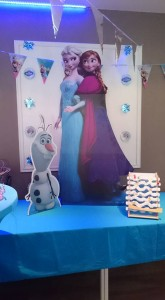 Frozen decoratie